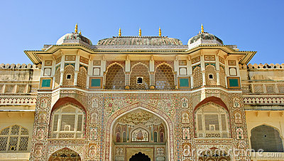 Amber fort, India
