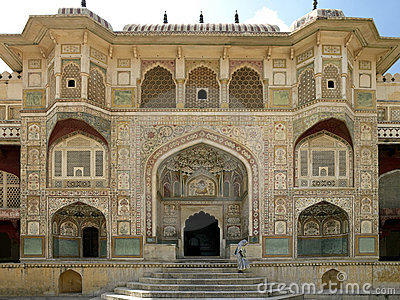 Amber Fort - Jaipur - India Editorial Image