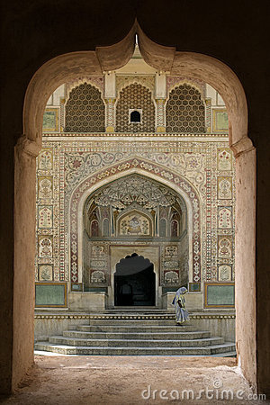Free Amber Fort - Jaipur - India Royalty Free Stock Images - 17587229