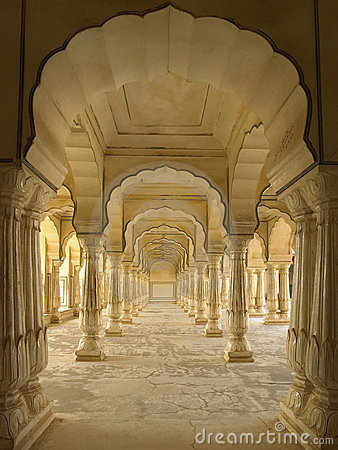 Free Amber Fort - Jaipur - India Royalty Free Stock Photos - 22454508