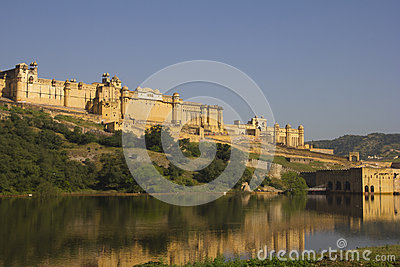 Amber Fort at Jaipur, India Editorial Photography