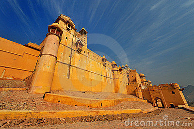the amber fort in jaipur,rajasthan,india.
