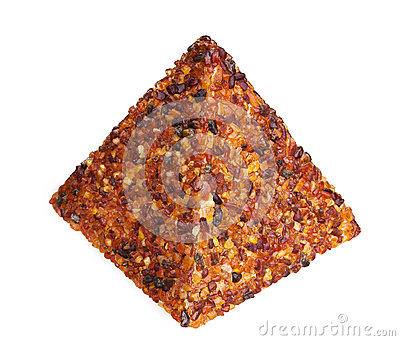 Amber Gem Piramyd Royalty Free Stock Image - Image: 28503356