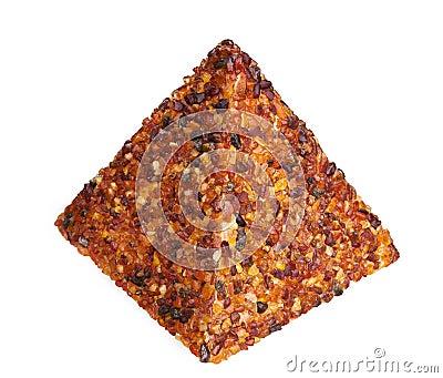 Amber gem piramyd