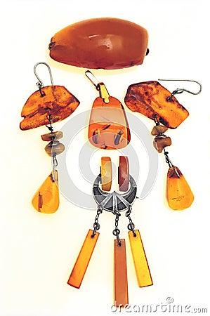 Free Amber Jewelry Stock Photo - 7620340