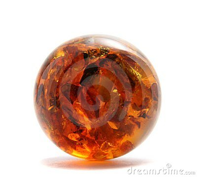 Free Amber Sphere Stock Photography - 11124662