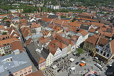 Amberg, Historical City Editorial Photography