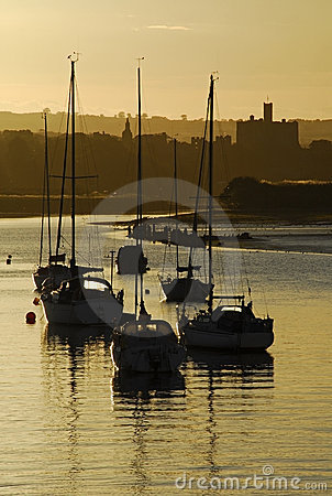 Amble Harbour and Warkworth Ca