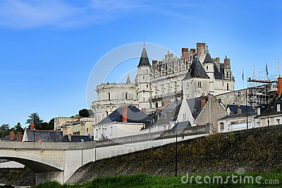 Amboise Castle in France