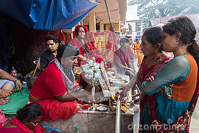 Ambubachi Mela 2014 Editorial Stock Image