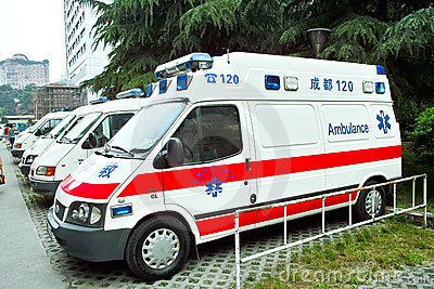 Ambulance Editorial Photo