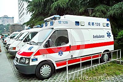 Ambulance Editorial Photo