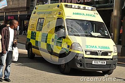Ambulance Editorial Stock Photo
