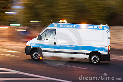 Ambulance in action 2