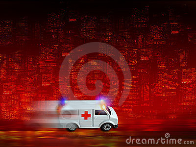 Ambulance background