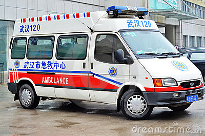 Ambulance car Editorial Stock Photo