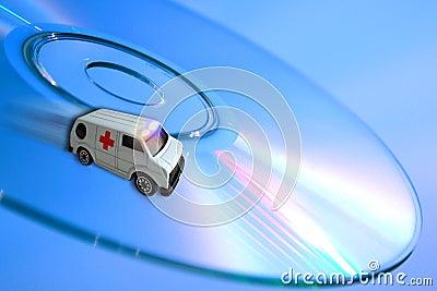 Ambulance concept - technologies healthcare