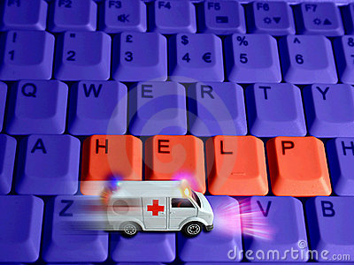 Ambulance concept - technologies healthcare Editorial Stock Image