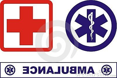 Ambulance icons Editorial Stock Photo