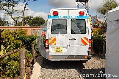 Ambulance in Nairobi Kenya
