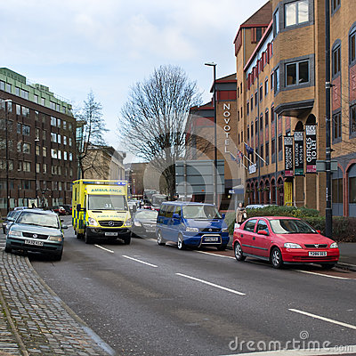 Ambulance Rescue Editorial Stock Photo