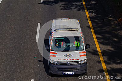 Ambulance Vehicle Medics Editorial Image