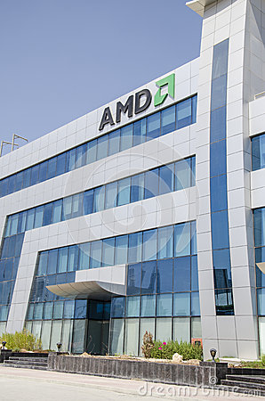 Amd offices Editorial Stock Photo