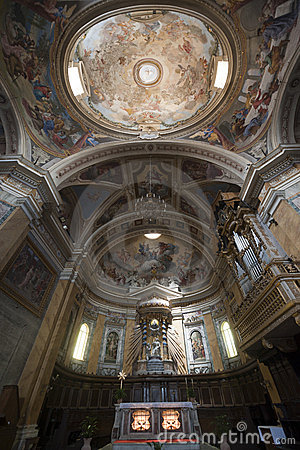 Free Amelia (Umbria, Italy) - Cathedral Interior Stock Photography - 21593632