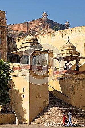 Amer, India - November 2011 Editorial Photo