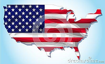 Americ flag texture