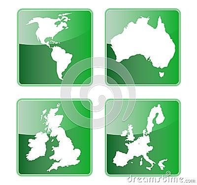 America australia britain europe