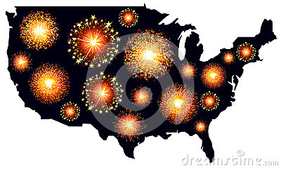 America fireworks