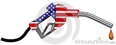 America gas nozzle