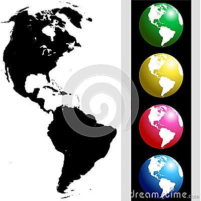 America globe kit