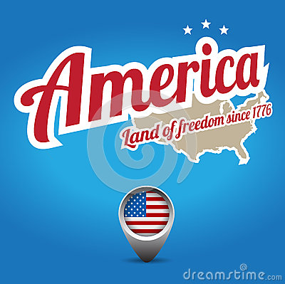 America - land of freedom
