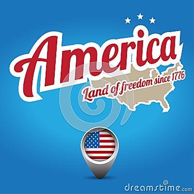 America - land of freedom