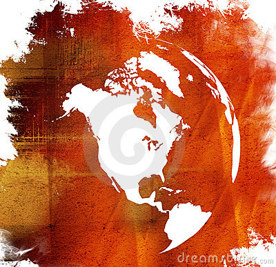 America Map Royalty Free Stock Photography - Image: 4289237