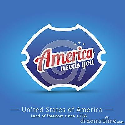 America needs you