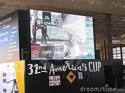 America s cup Editorial Image