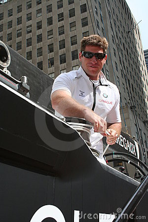 America s Cup - BMW Team Editorial Image