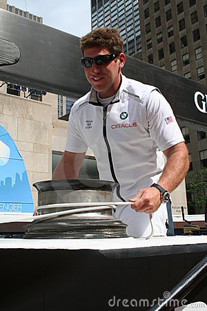 America s Cup - BMW Team - crew member Editorial Stock Photo