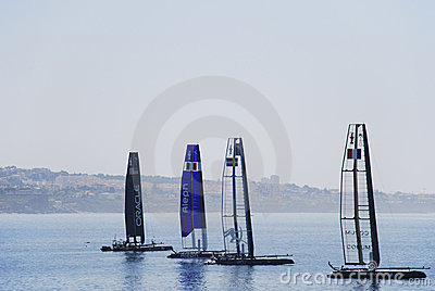 America s Cup World Series Editorial Stock Photo