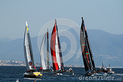 America s cup world series Editorial Photo
