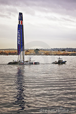 America s Cup World Series, San Diego Editorial Stock Photo