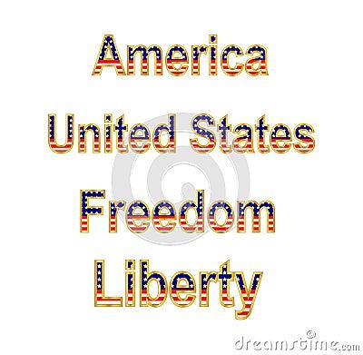 America Words