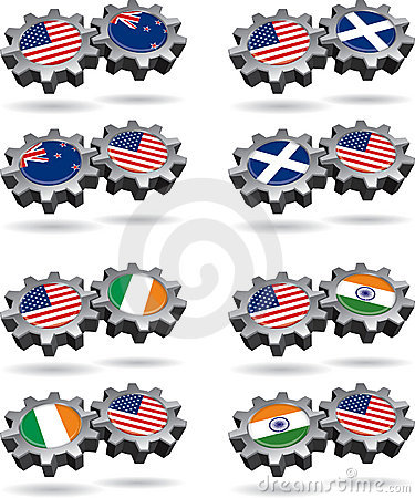 America Works With New Zealand, Scotland, Ireland,