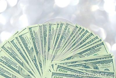 American 100 dollar bills