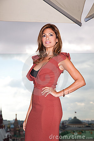 American actress Eva Mendes Editorial Stock Photo