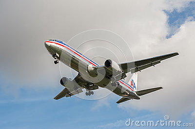 American Airlines Boeing 767 Editorial Image