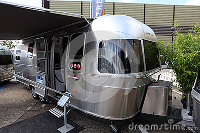 American Airsream mobile home Editorial Photo
